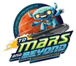 Logo for To Mars and Beyond VBS